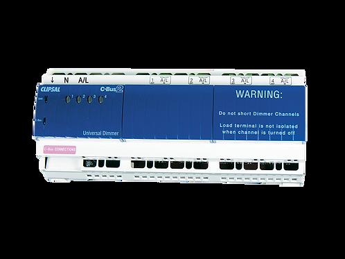 4-канальный Универсальный DIN диммер, 2,5 А/канал