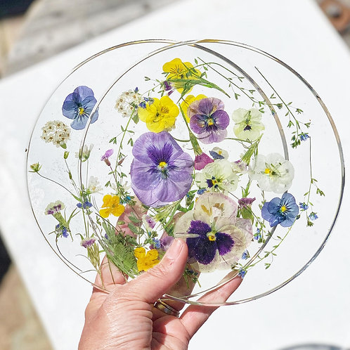 Fresh Flower Pacemats