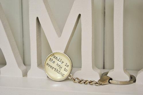 """Family Key"" Keyring"