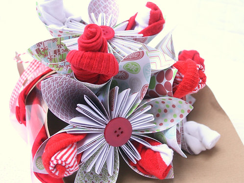Baby's First Christmas Clothing Bouquet
