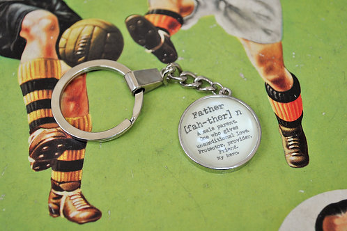 """""""Father"""" Key Ring"""