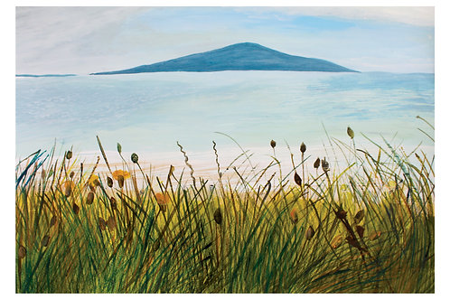 Machair Pabay - Giclee Print by Marigold Williams