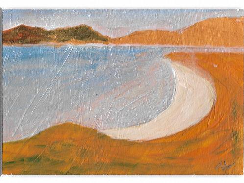 Seilebost - Original Painting by Owen Williams A6