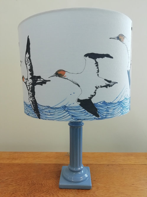 Hand Drawn Gannets Lampshade (D)28