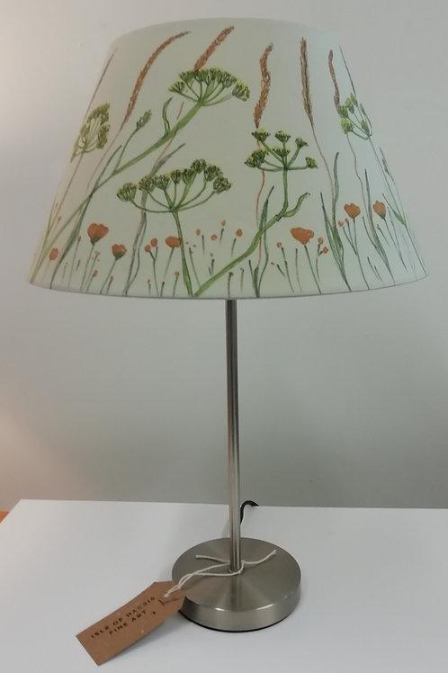 Hand Drawn Machair Flowers Lampshade (D)30.5cm