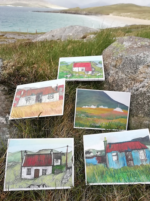 Croft House Greeting Cards - 5 Pack