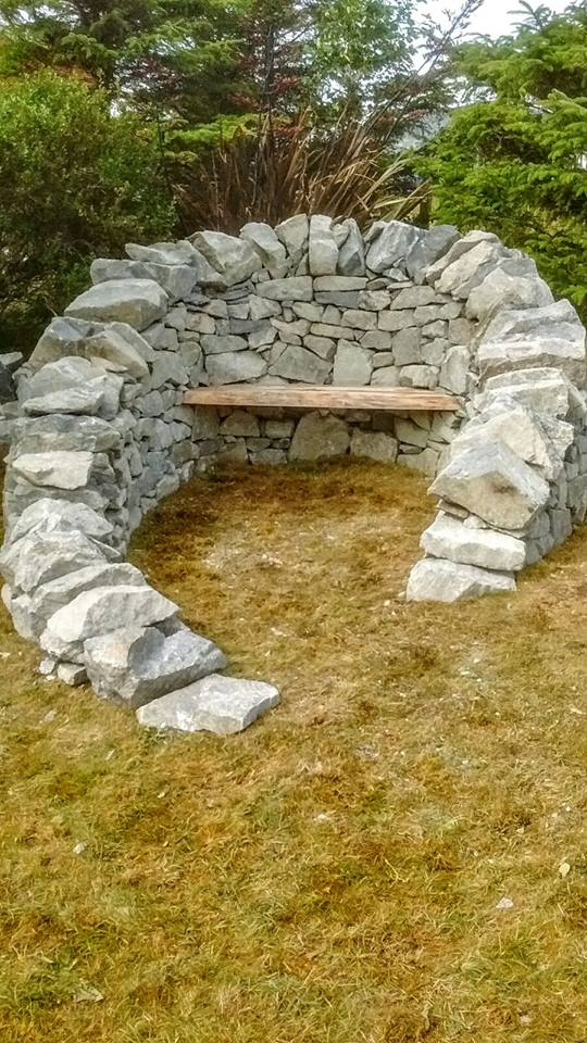 Dry Stone Two Seater