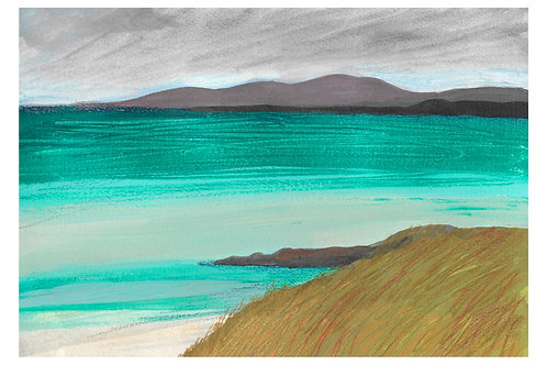 Luskentyre Green - Giclée Print by Marigold Williams