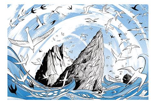 St Kilda - Giclée Print by Alice Newman