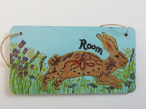 Customised Name Plate - Machair Rabbit