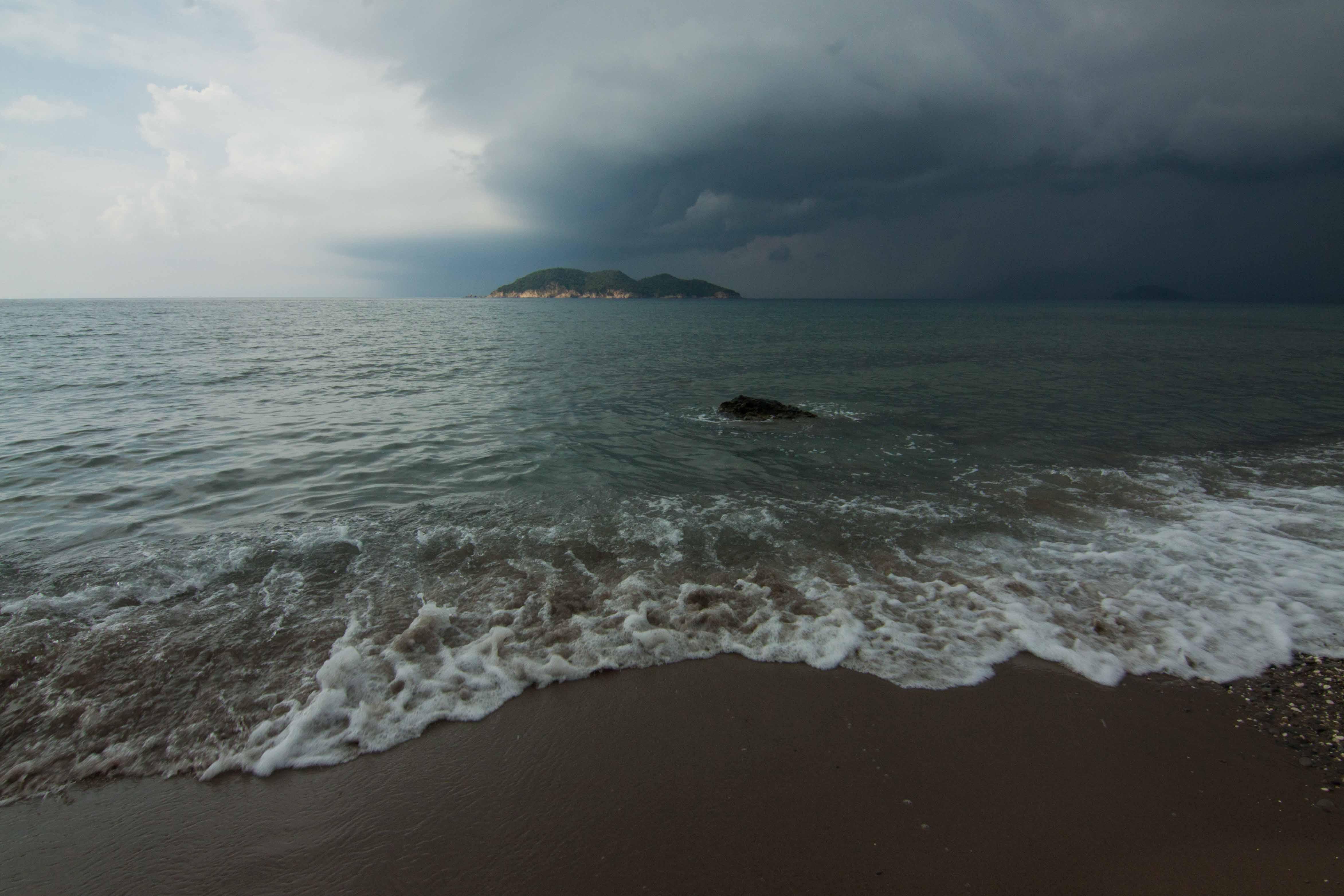 SUMMER RAIN AT DAFNI