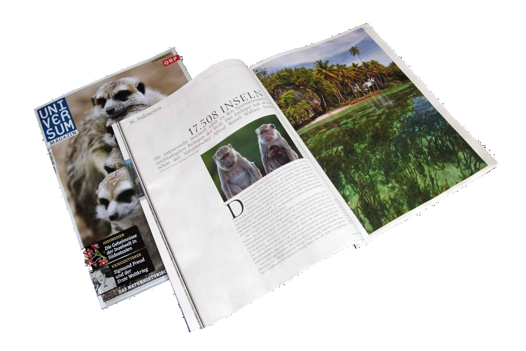 Universum Magazin, September 2014