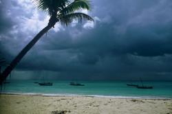 HEAVY RAIN OVER RAS NUNGWI