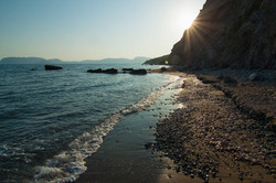 DAFNI BEACH SUNSET
