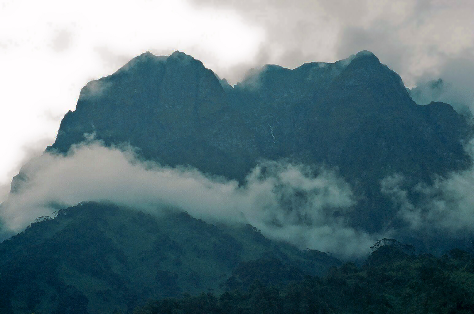 RUWENZORI MOUNTAIN RANGE