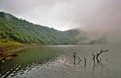 CRATER LAKE AT MT. VISOKE
