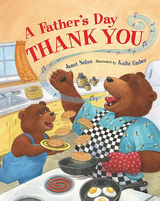 A father's day Thank you by author Janet Nolan