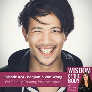 024. Benjamin Von Wong on Fantasy Creating Positive Impact