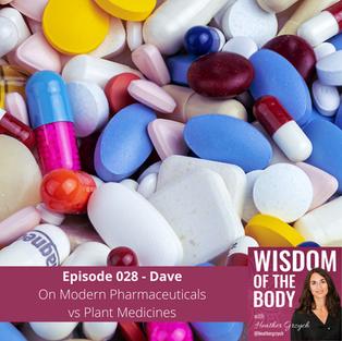 028. Dave on Modern Pharmaceuticals vs. Plant Medicines