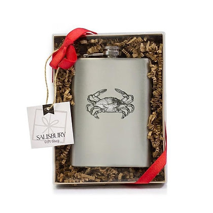 Stainless Steel Crab Flask