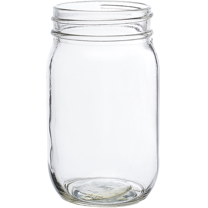 Mason Jars Drinking Glass 16 oz.