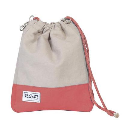 Ame & Lulu R. Scott Golf Ditty Bag in Mist Red
