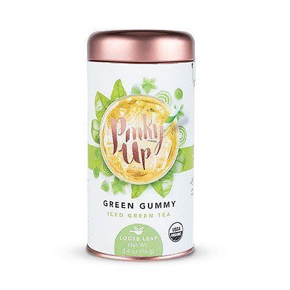 Green Gummy Loose Leaf Iced Tea by Pinky Up