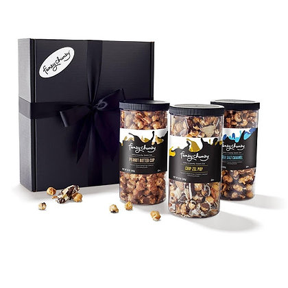 Triple Flavor Gift Pack – Sea Salt Caramel, Chip Zel Pop, Peanut Butter Cup