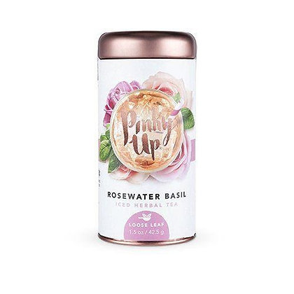 Rosewater Basil Loose Leaf Iced Tea by Pinky Up