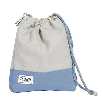 Ame & Lulu R. Scott Golf Ditty Bag in Mist Blue
