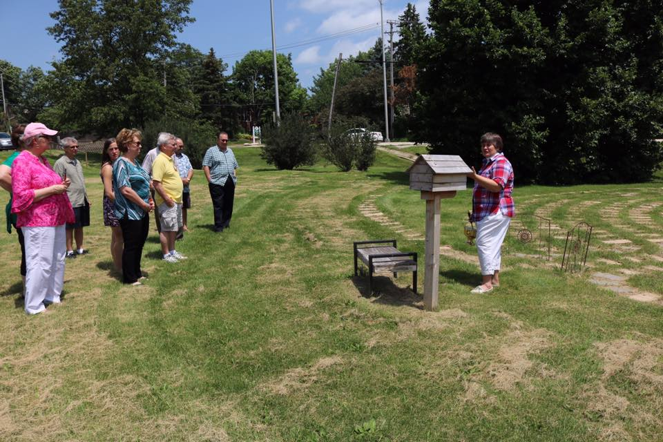 Prayer Labyrinth Dedication - July 2