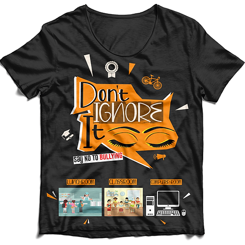 Don't Ignore It, Report It T-shirt