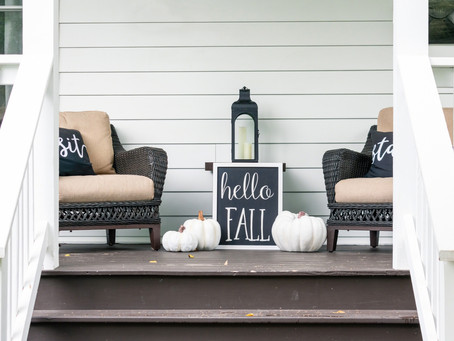 Cheap and Easy DIY Outdoor Fall Decoration Ideas