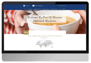 Port of Missions Outreach Ministries (WIX- Hybrid)