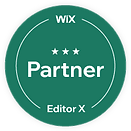 WIX Creator badge web design