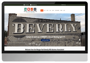 Beverly Morgan Park Business Association (WIX- Custom Design)