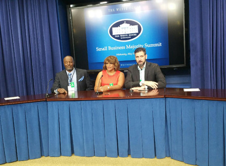 2016 Small Business Majority at the White House in Washington, DC.