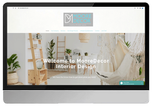 MooreDecor Interior Decorating (WIX Custom Design)