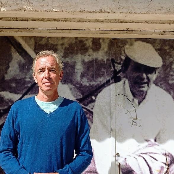 Jorge Urdiales, autor de las Rutas de Delibes