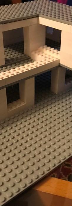 Cantilevered Modern Home