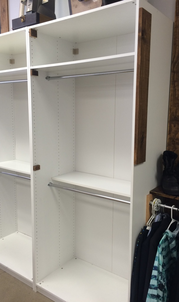 Cabinets in the shop