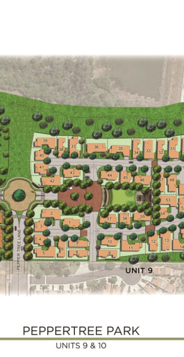 Peppertree Park, Units 9 and 10