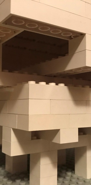 Homage to UCSD Geisel Library