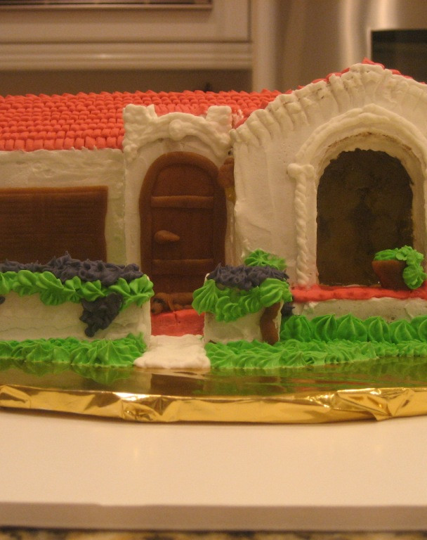Gingerbread Spanish Bungalow