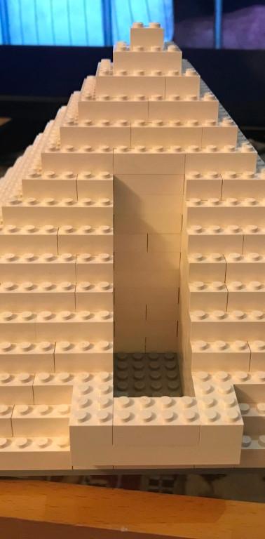 Pyramid with Balcony