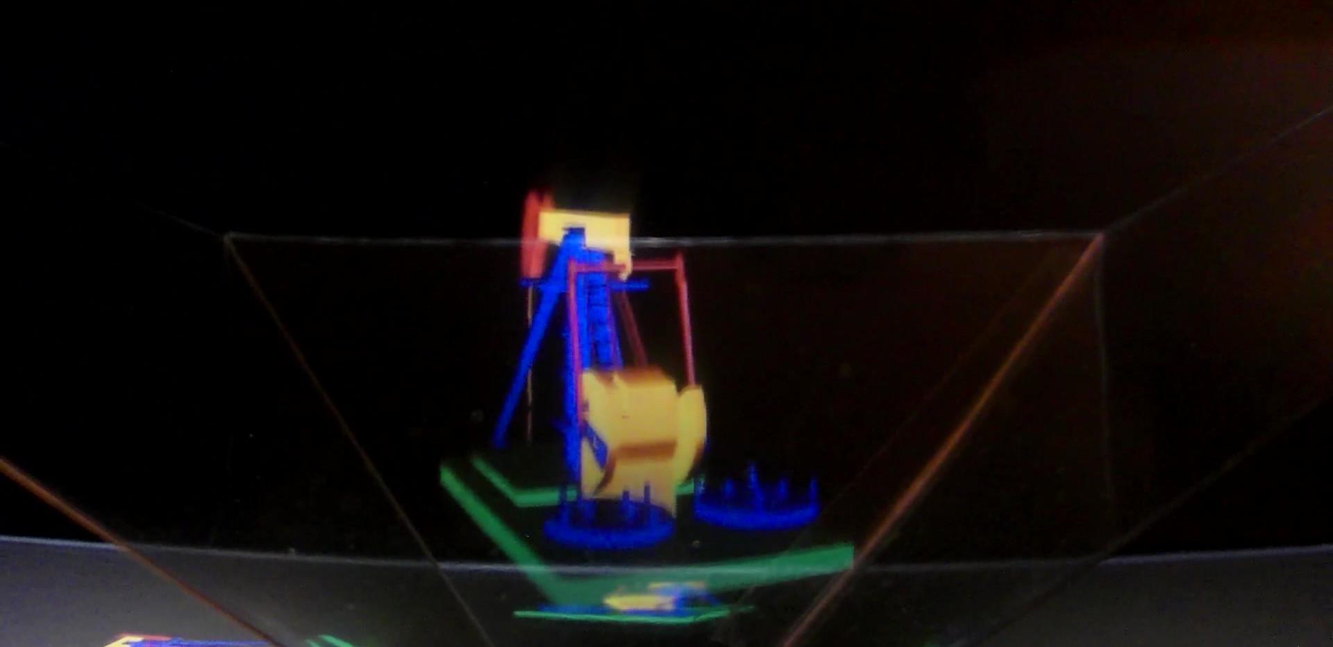 Pumpjacks - Zoetrope + Hologram