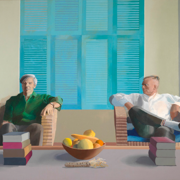 hockney: six decades of remarkable versatility.