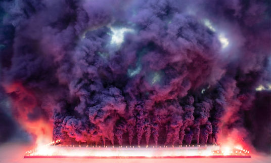 68 Judy Chicago - Purple Poem for Miami.