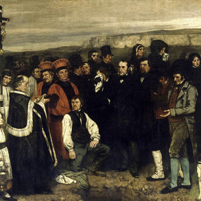 on existence: gustave courbet.