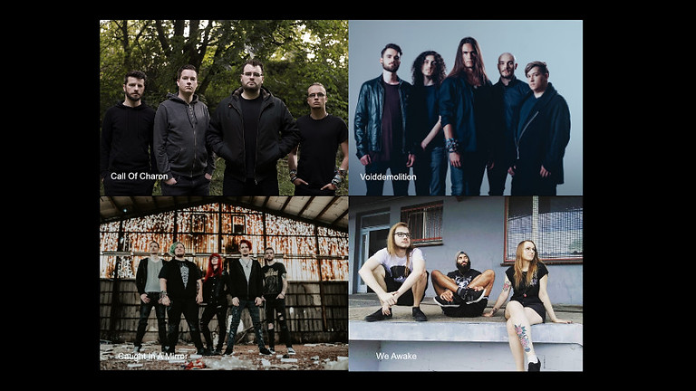 Call of Charon / Caught In A Mirror / We Awake / Voidemolition